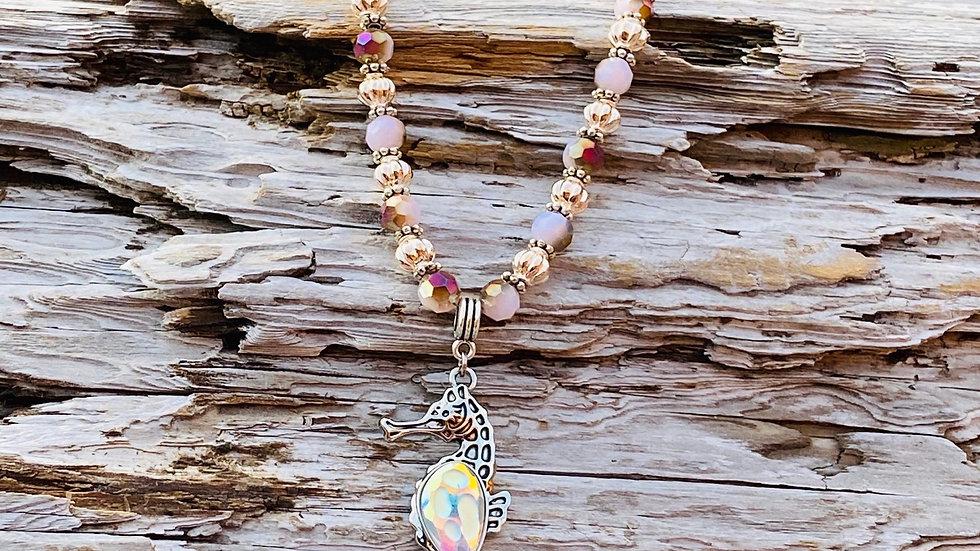 Swarovski Seahorse necklace