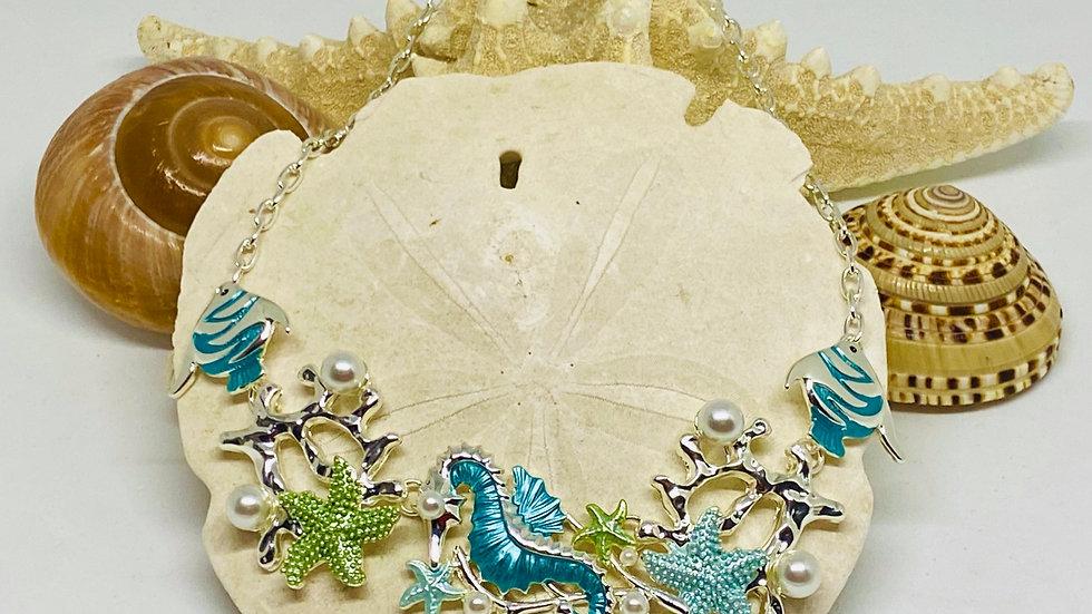Coastal chocker necklace