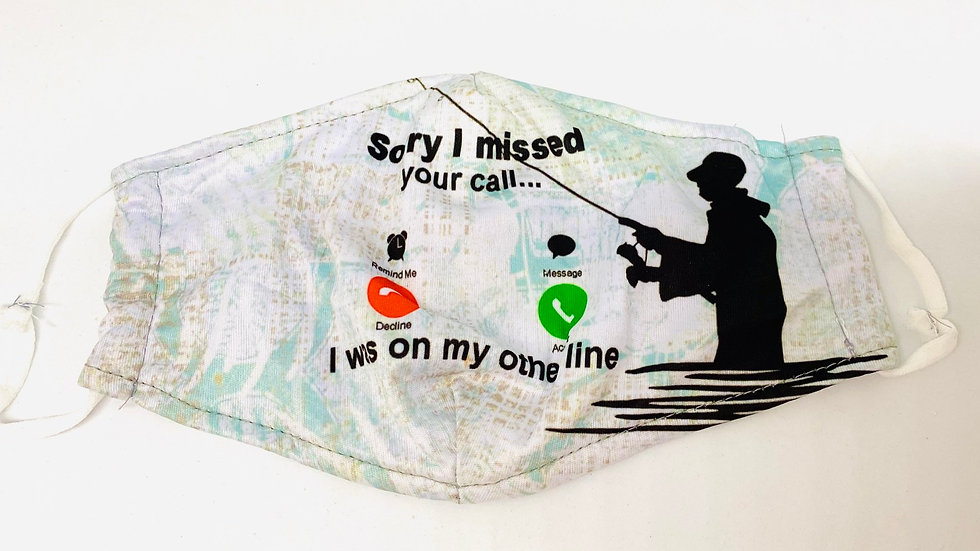 Sorry I missed you call I was on the other line mask