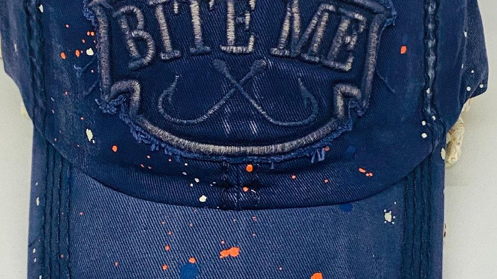 Bite Me / vintage cap