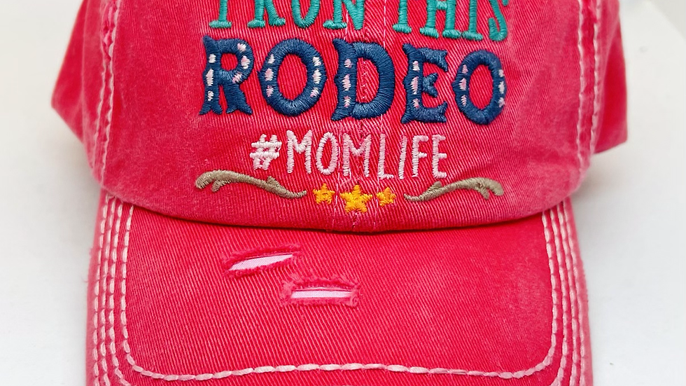 I run this Rodeo # Momlife