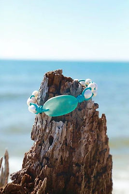 sea glass fresh water peals.