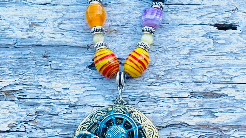 boho octopus necklace