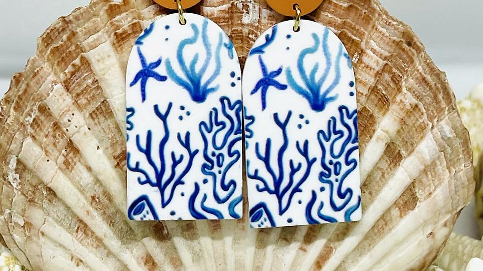 Sealife earrings /nickle free