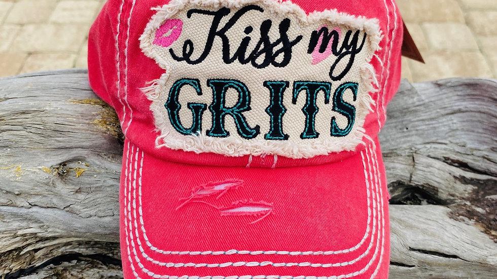 kiss my grits hat