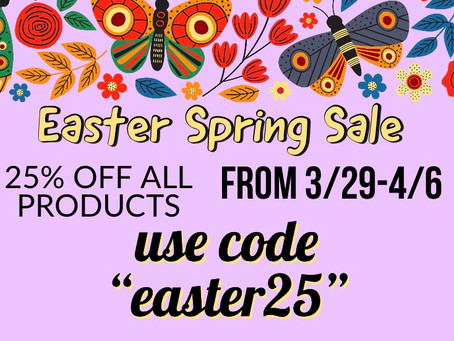 Easter Sale.
