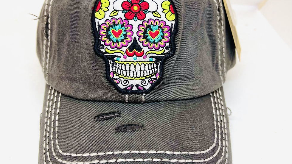 Skeleton vintage cap