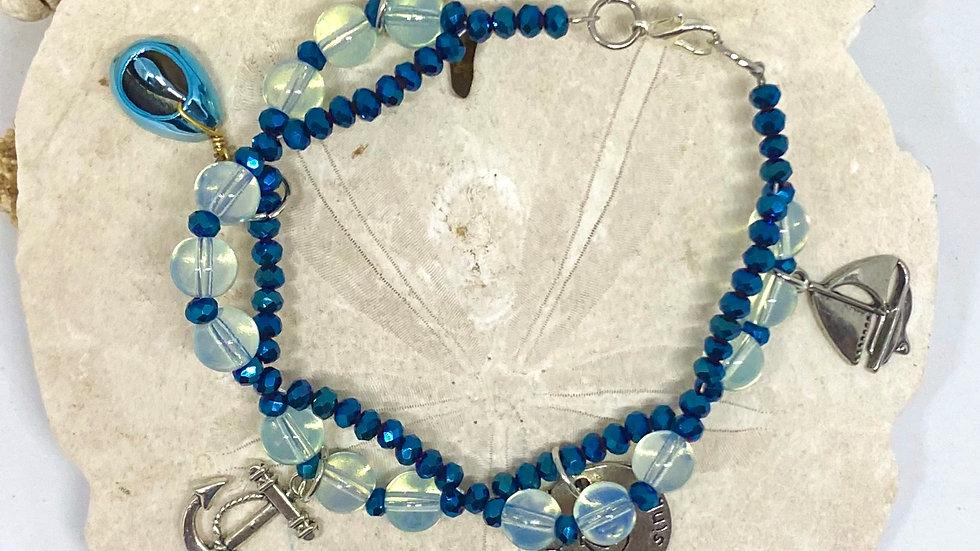 Double Costal bracelet with Nautica theme