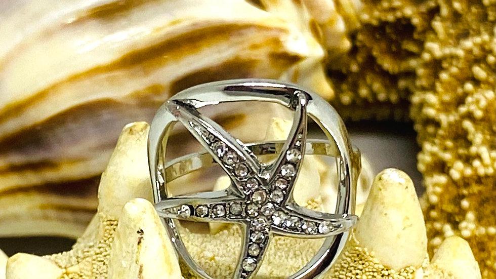 Starfish Ring / size 8