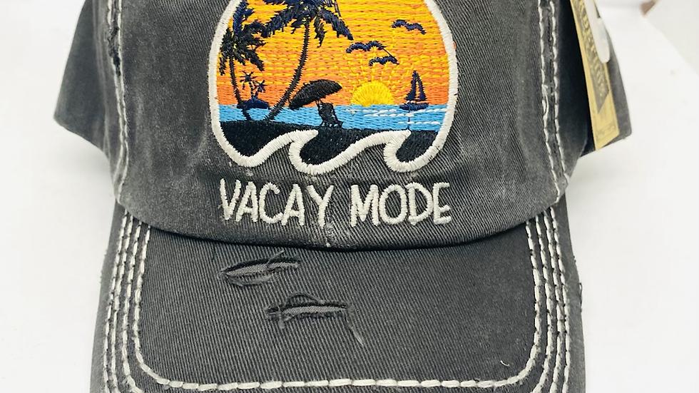 Vacay Mode vintage cap