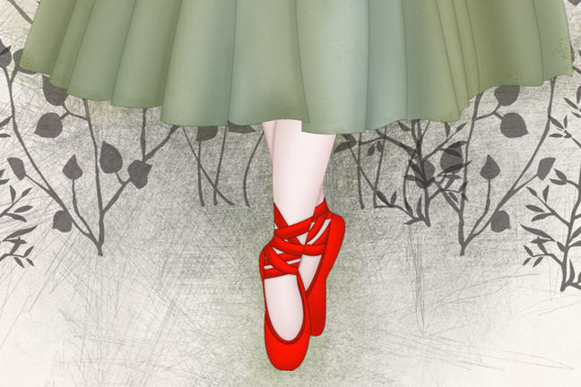 The Red Shoes by Bakarti Tusuri