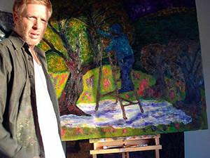 משה קסירר, צייר