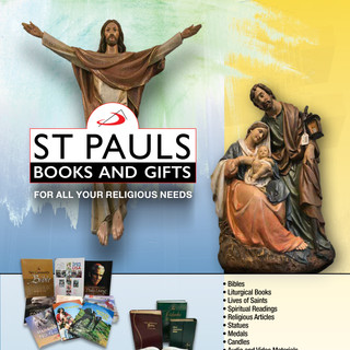 Saint Paul's Books and Gifts Flyer