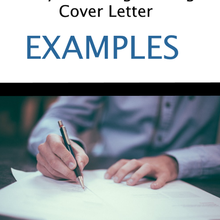 Entry Level Engineering Cover Letter Examples