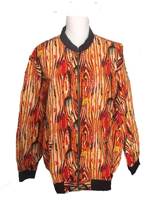 Bomber jacket speckled