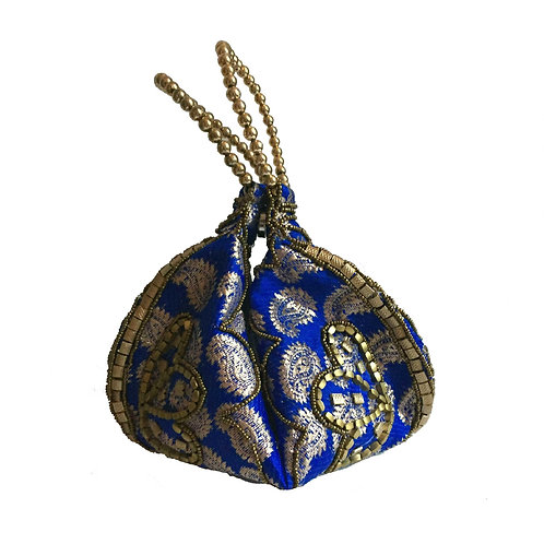 Tribal mini bag (blue)