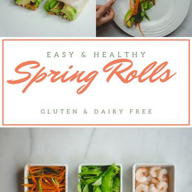 Easy 7 Ingredient Spring Rolls