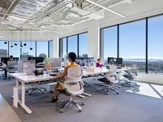 透日光的辦公室, 員工會開心些  A Office with nature day light, the employee will be happier