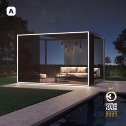 Box outdoor unit Aluvision