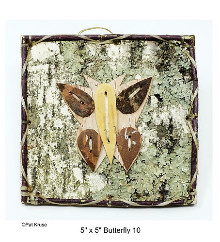 """Butterfly 10- 5"""" x 5"""""""