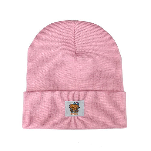 Little China Dog Rescue Pink Beanie