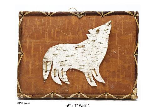 """Wolf 2 - 5"""" x 7"""""""