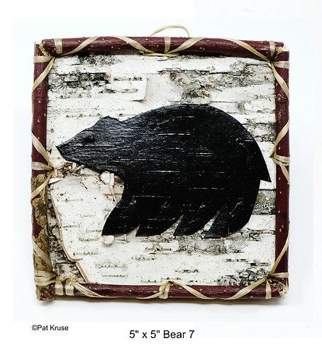 """Bear 7 - 5"""" x 5"""""""