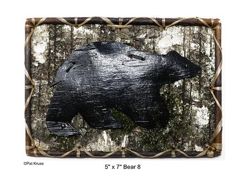 """Bear 8 - 5"""" x 7"""""""