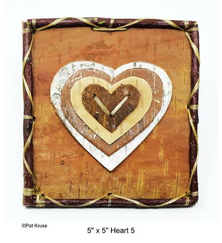 """Heart 5 - 5"""" x 5"""""""