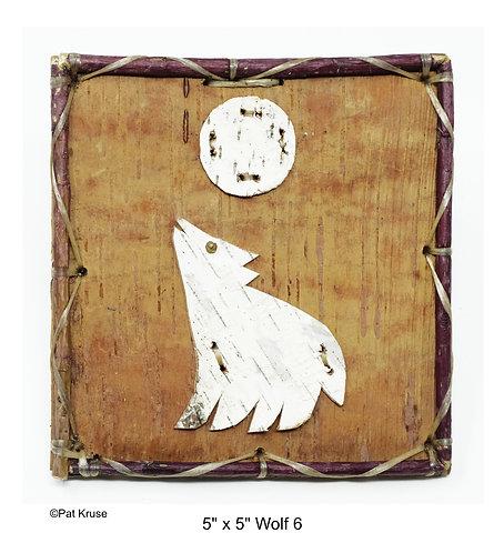"""Wolf 6 - 5"""" x 5"""""""