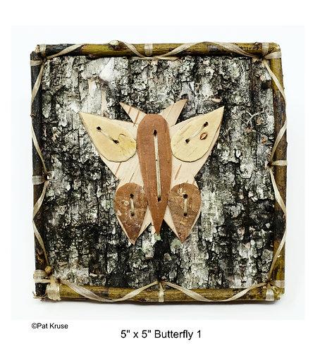 """Butterfly 1 - 5"""" x 5"""""""