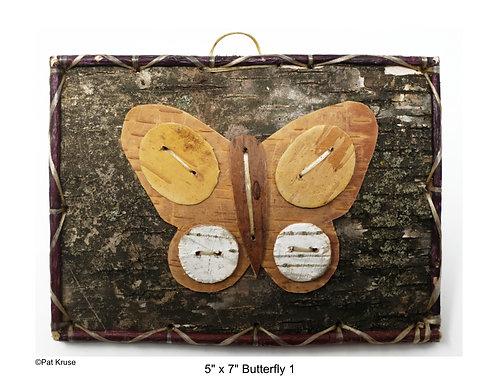 """Butterfly 1 - 5"""" x 7"""""""