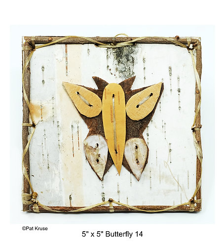"""Butterfly 14 - 5"""" x 5"""""""