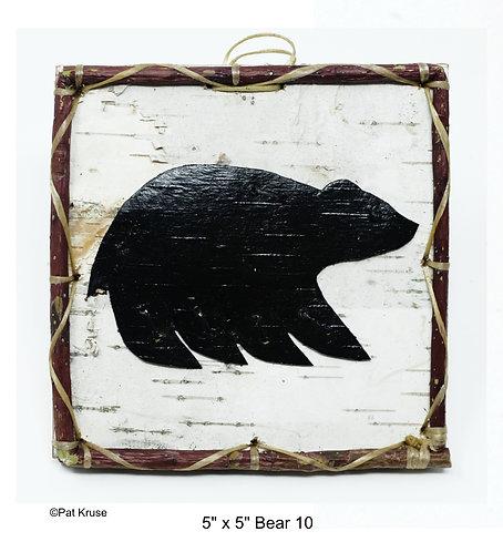 """Bear 10 - 5"""" x 5"""""""