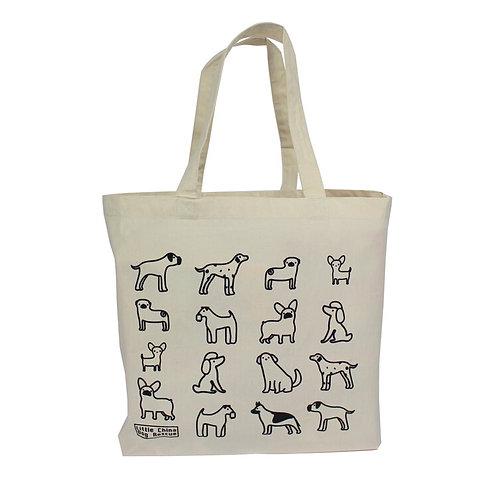 Little China Dog Rescue Maxi Tote Bag