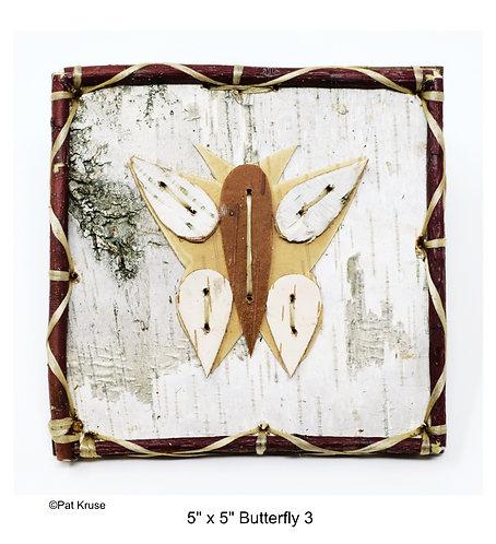 """Butterfly 3 - 5"""" x 5"""""""