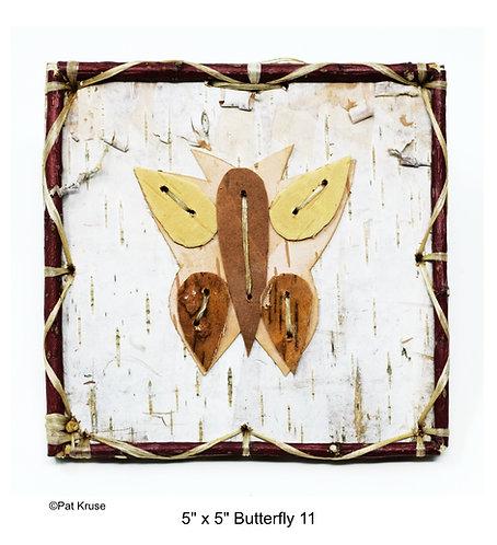 """Butterfly 11 - 5"""" x 5"""""""