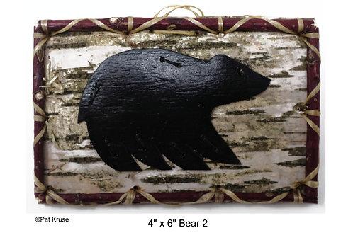 """Bear 2 - 4"""" x 6"""""""