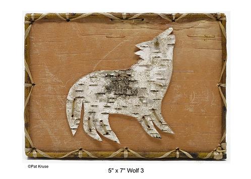 """Wolf 3 - 5"""" x 7"""""""