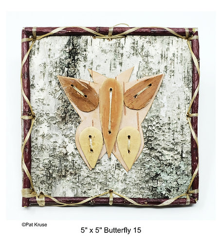 """Butterfly 15 - 5"""" x 5"""""""