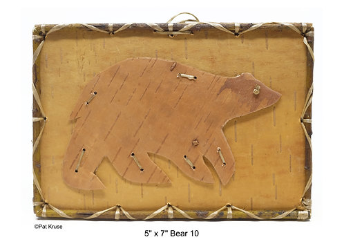 """Bear 10 - 5"""" x 7"""""""