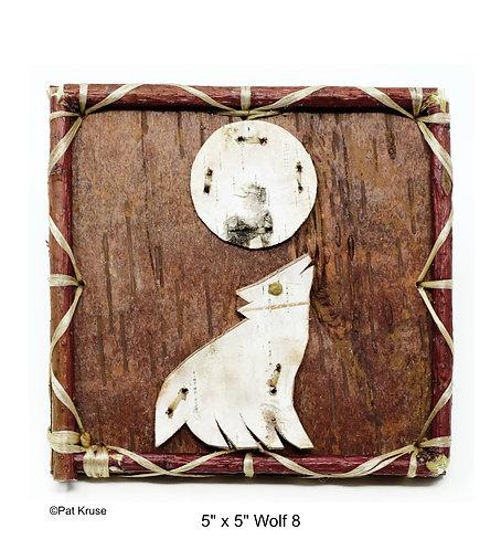 """Wolf 8 - 5"""" x 5"""""""