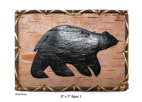 """Bear 1 - 5"""" x 7"""""""