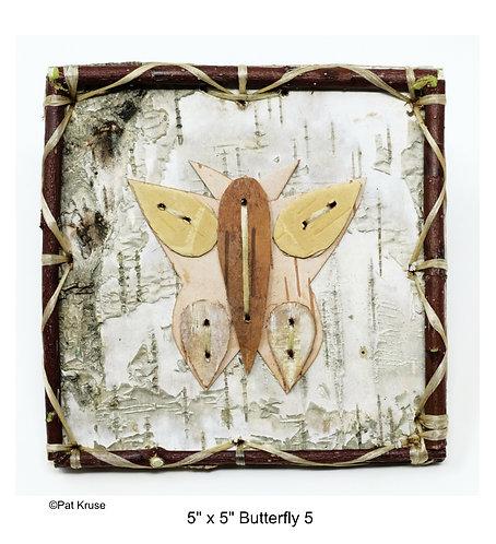 """Butterfly 5 - 5"""" x 5"""""""