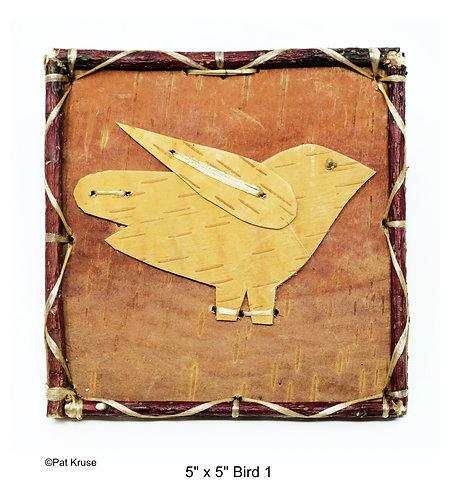 """Bird 1 - 5"""" x 5"""""""