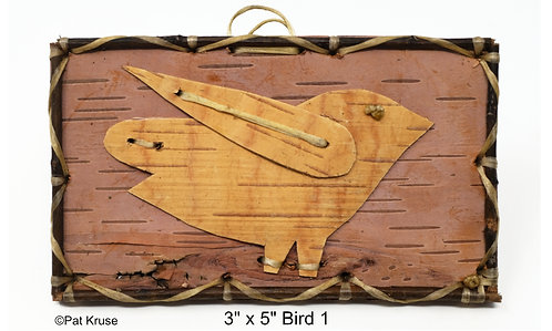 """Bird 1 - 3"""" x 5"""""""