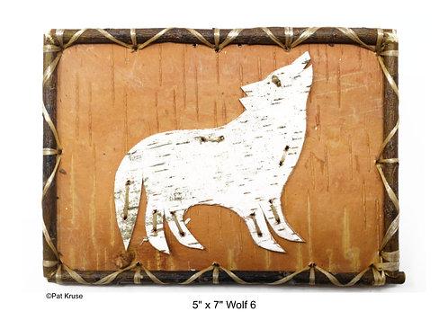 """Wolf 6 - 5"""" x 7"""""""