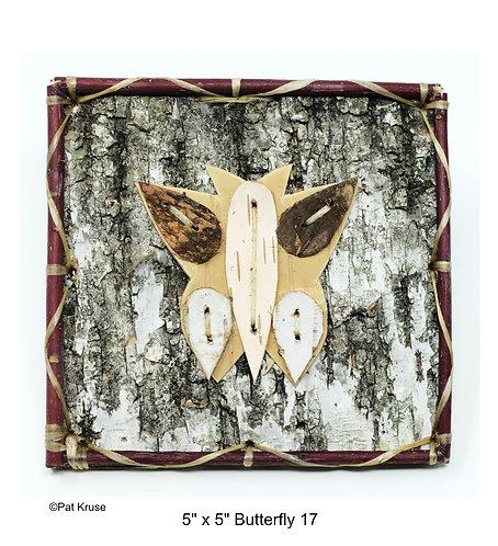 """Butterfly 17 - 5"""" x 5"""""""