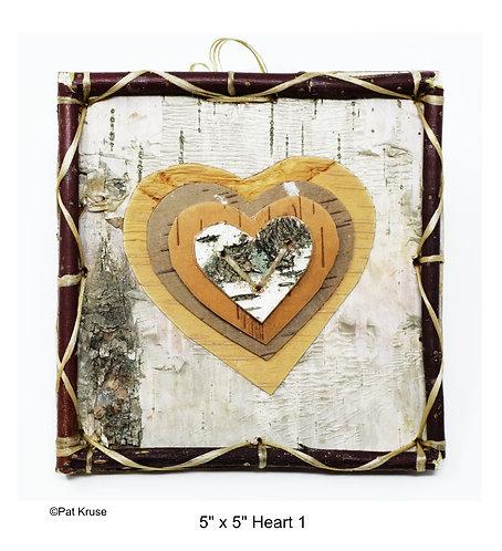 """Heart 1 - 5"""" x 5"""""""