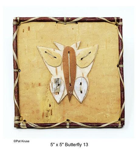 """Butterfly 13 - 5"""" x 5"""""""